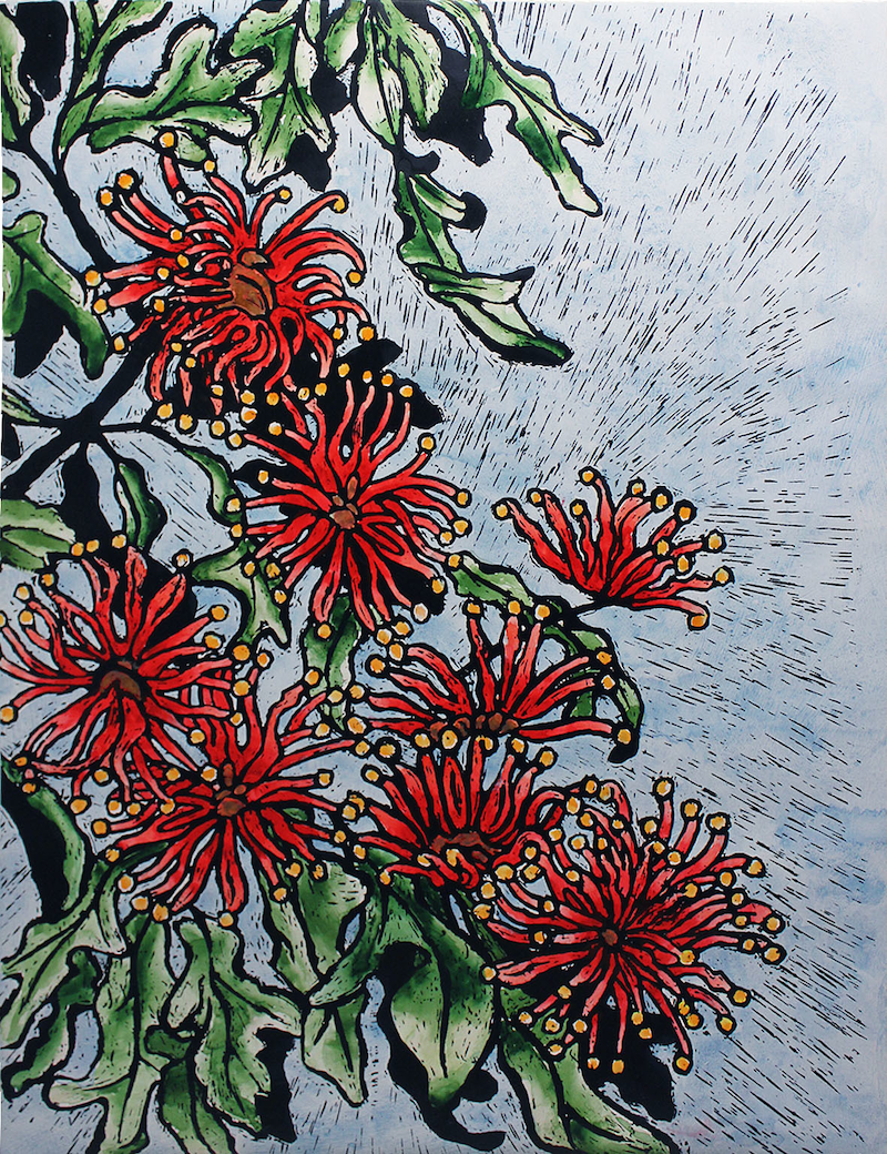 (CreativeWork) Firewheel by Just Potts. print. Shop online at Bluethumb.