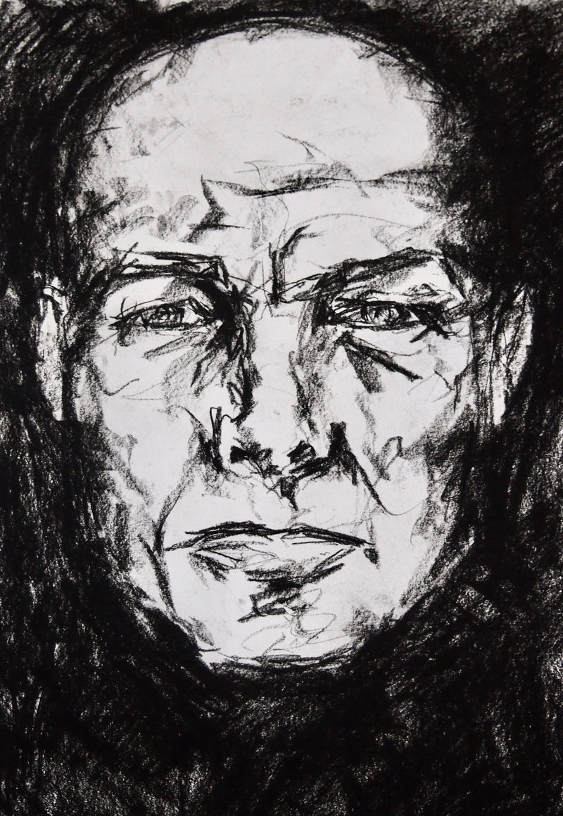 (CreativeWork) Gaze by Victoria ter Kuile. Drawings. Shop online at Bluethumb.