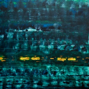 (CreativeWork) Drifting In by GRAHAM JONES. arcylic-painting. Shop online at Bluethumb.