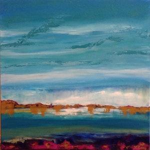 (CreativeWork) Ocean Dreams by Robyn Gray. arcylic-painting. Shop online at Bluethumb.