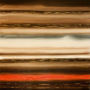 (CreativeWork) Brown by Ronan Holdsworth. arcylic-painting. Shop online at Bluethumb.