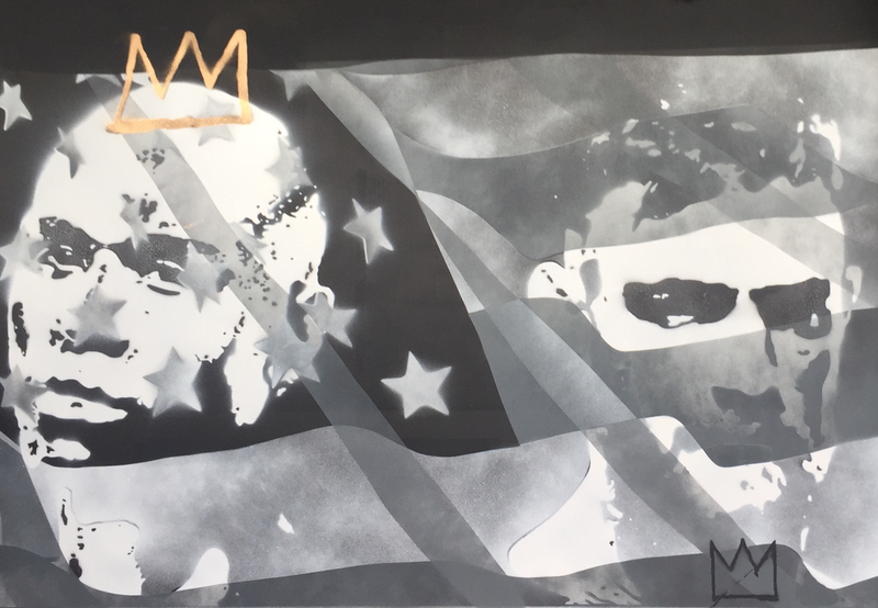 (CreativeWork) Boxing Royalty by Adam Todd. arcylic-painting. Shop online at Bluethumb.