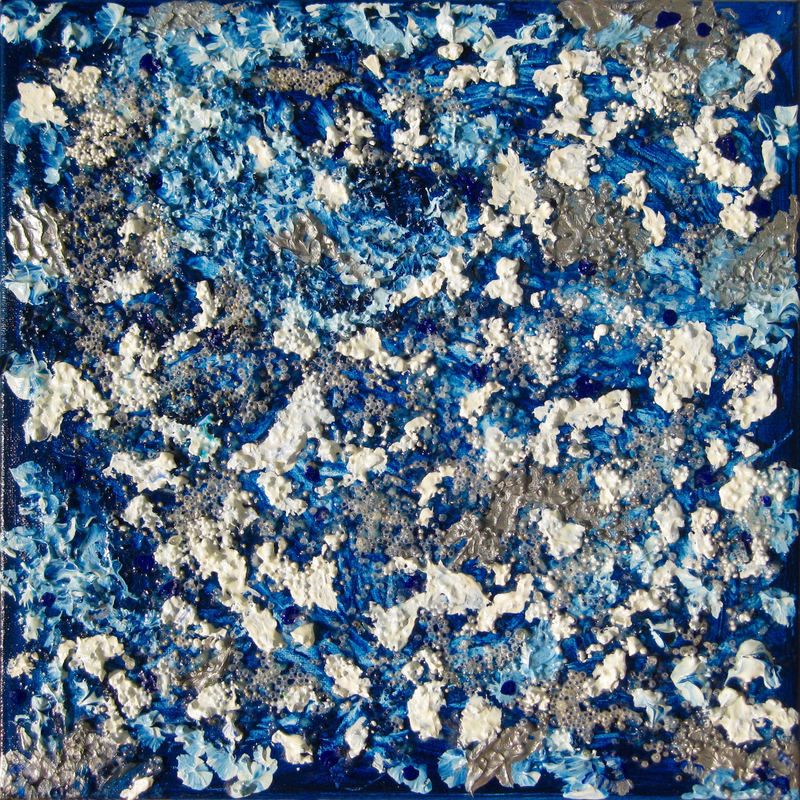 """(CreativeWork) """"EARTH FROM ABOVE"""". by Alorna & Co. Mixed Media. Shop online at Bluethumb."""