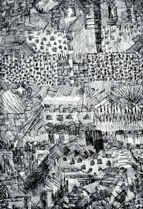 (CreativeWork) City of Dreams by Patricia Concha. Drawings. Shop online at Bluethumb.