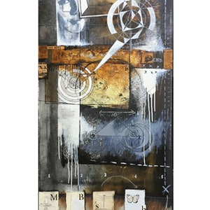 (CreativeWork) TAKE NOTES [ 2017 ] by G Kustom Kuhl. mixed-media. Shop online at Bluethumb.