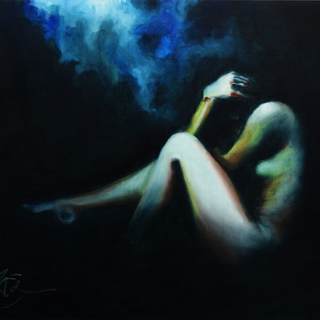(CreativeWork) Fuga by Tim Eden. Oil Paint. Shop online at Bluethumb.