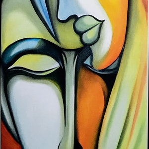 (CreativeWork) WARMTH by Vipin KC. oil-painting. Shop online at Bluethumb.