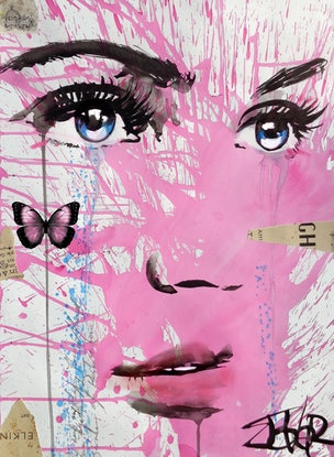 (CreativeWork) INTO THE PINK by loui jover. Mixed Media. Shop online at Bluethumb.