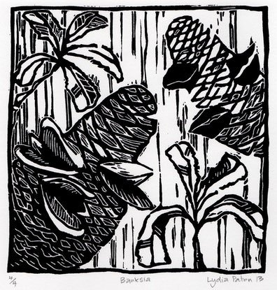 (CreativeWork) Banksia Ed. 4 of 4 by Lydie Paton. Print. Shop online at Bluethumb.