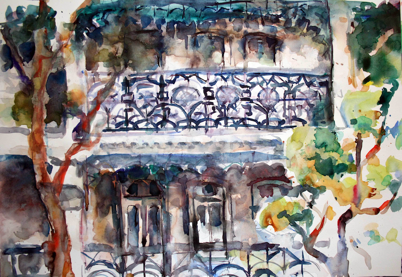 (CreativeWork) sketch #2 by tomas maceiras. Watercolour Paint. Shop online at Bluethumb.