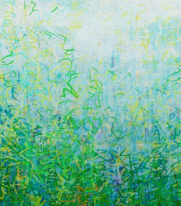 (CreativeWork) 'Alicia's  Garden'    Ed. 1 of 25 by George Hall. Print. Shop online at Bluethumb.