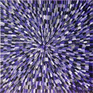 "(CreativeWork) ""AMETHYST"".  by Alorna & Co. arcylic-painting. Shop online at Bluethumb."
