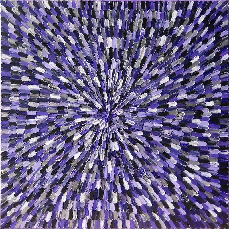 "(CreativeWork) ""AMETHYST"".  by Alorna & Co. Acrylic Paint. Shop online at Bluethumb."