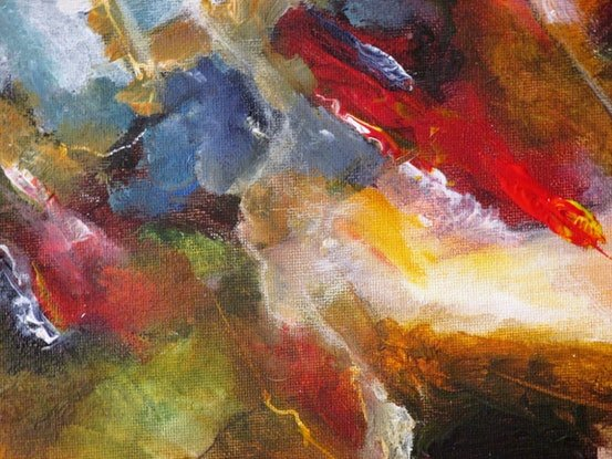 (CreativeWork) earth's forming 2 by Peter Shanahan. Acrylic Paint. Shop online at Bluethumb.