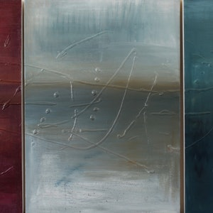 (CreativeWork) Triptych #1 by Imron .. mixed-media. Shop online at Bluethumb.