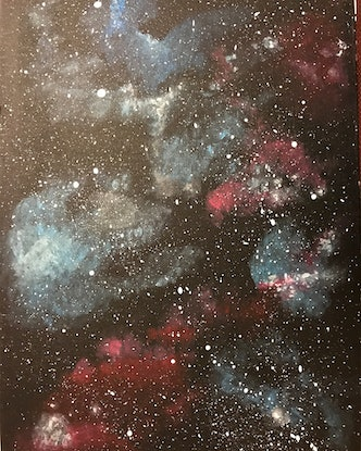 (CreativeWork) In Space by Sarah Moody. Acrylic Paint. Shop online at Bluethumb.