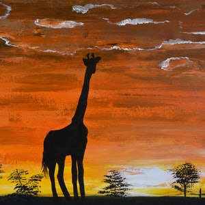 (CreativeWork) Out of the Darkness  by Deborah Christensen. arcylic-painting. Shop online at Bluethumb.