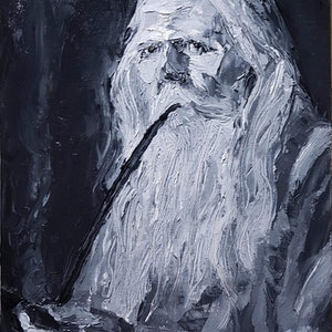(CreativeWork) Wisdom of Hindsight by Rohan Skellams. oil-painting. Shop online at Bluethumb.