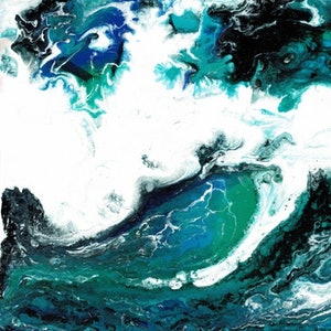 (CreativeWork) Nature Series #8 by Sung Lee. arcylic-painting. Shop online at Bluethumb.