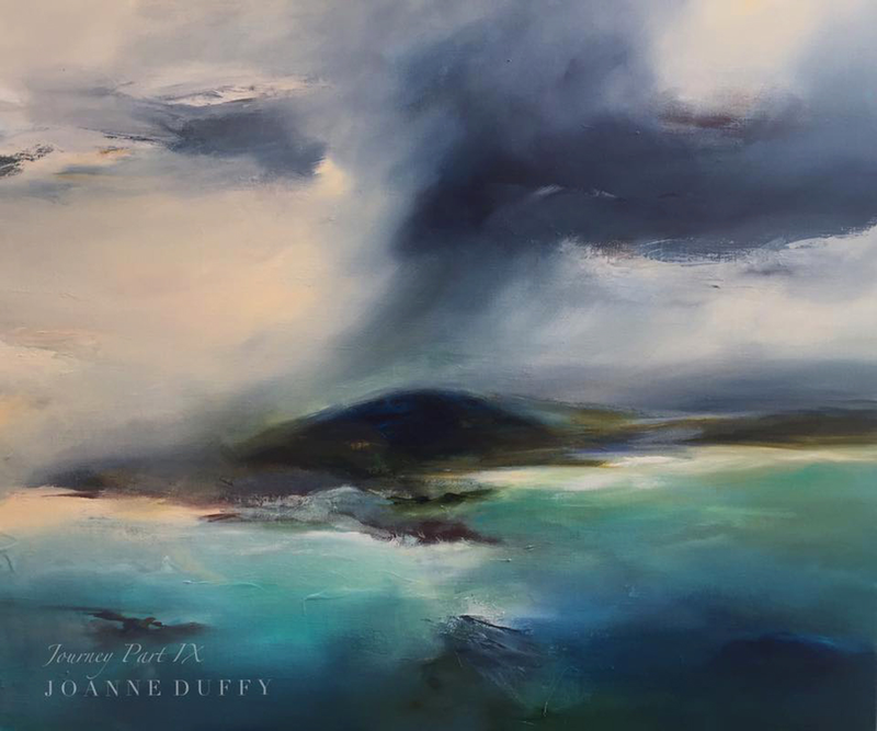 (CreativeWork) Journey Part IX by Joanne Duffy. oil-painting. Shop online at Bluethumb.