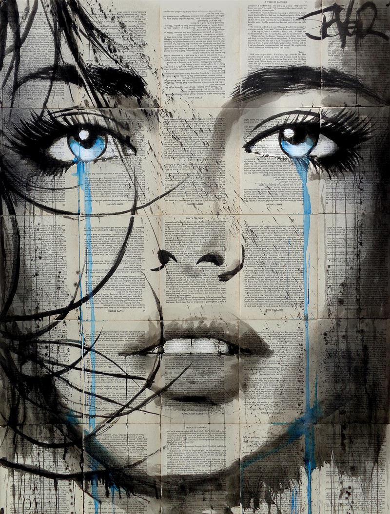 (CreativeWork) TRINITY by loui jover. drawing. Shop online at Bluethumb.
