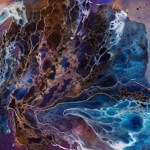 (CreativeWork) Infinity by Lauren O'Meara. mixed-media. Shop online at Bluethumb.