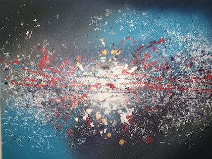 (CreativeWork) After the Big Bang by Monica Coppola. other-media. Shop online at Bluethumb.
