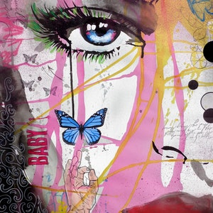 (CreativeWork) BABY CAKES by loui jover. mixed-media. Shop online at Bluethumb.