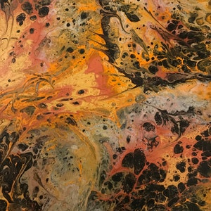(CreativeWork) AUTUMN LEAVES by JANE VEYTS. arcylic-painting. Shop online at Bluethumb.