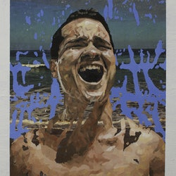 (CreativeWork) The Scream by Julius Killerby. oil-painting. Shop online at Bluethumb.