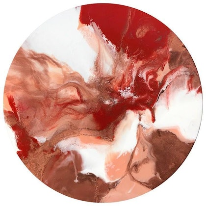 RED DESERT - RESIN ART