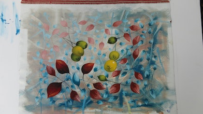 (CreativeWork) LEMONS IN DENMARK by edward mitford. oil-painting. Shop online at Bluethumb.