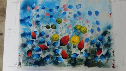(CreativeWork) PRIMAVERA by edward mitford. oil-painting. Shop online at Bluethumb.