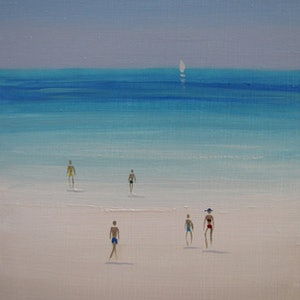 (CreativeWork) Summer Salt V by Elena Parashko. oil-painting. Shop online at Bluethumb.