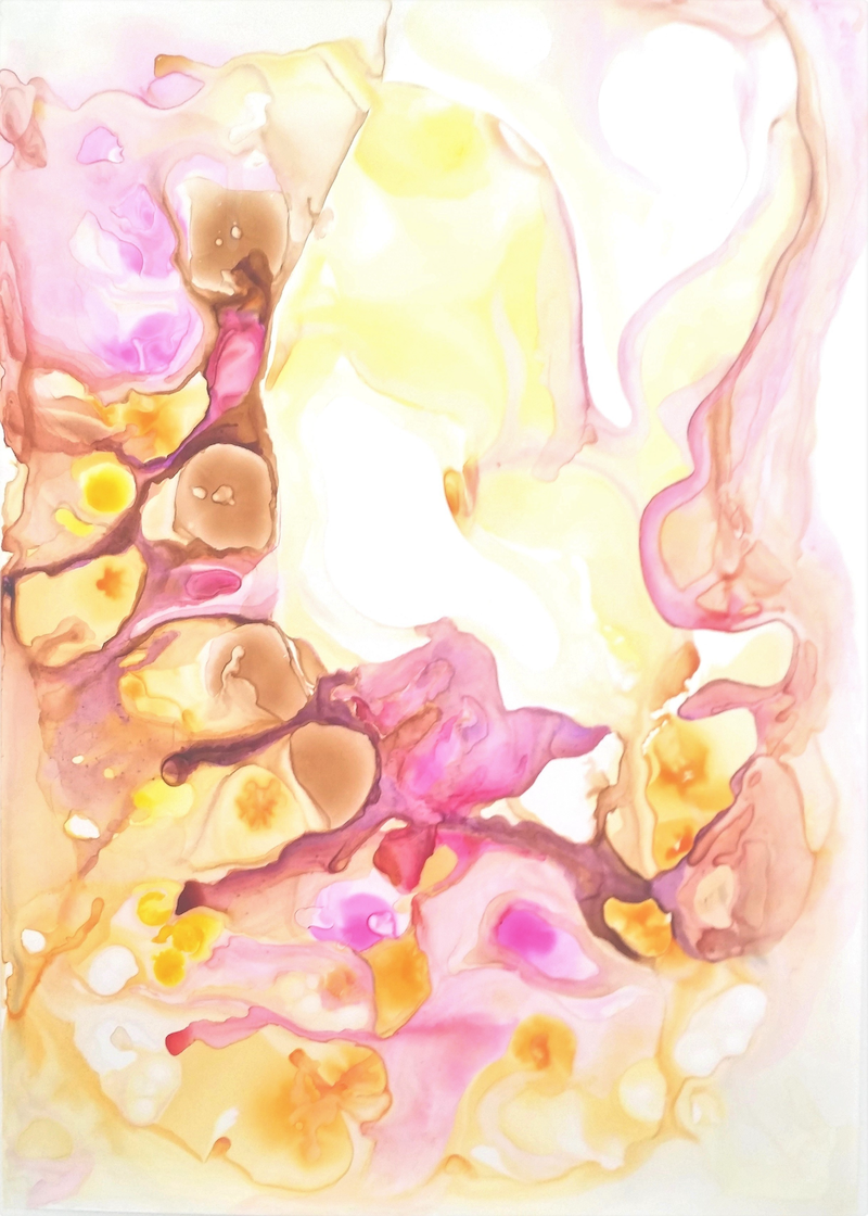 (CreativeWork) Nature Series Yellow by Sung Lee. other-media. Shop online at Bluethumb.