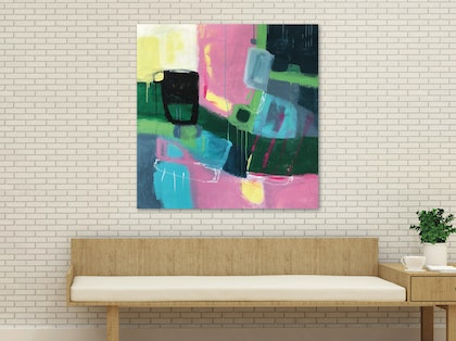 (CreativeWork) Wondering by Sioux Tempestt. arcylic-painting. Shop online at Bluethumb.