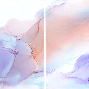 (CreativeWork) HUSH I & HUSH II (DIPTYCH) by Fern Siebler. other-media. Shop online at Bluethumb.