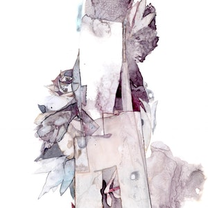 (CreativeWork) Remnant IV by Netty Raff. mixed-media. Shop online at Bluethumb.