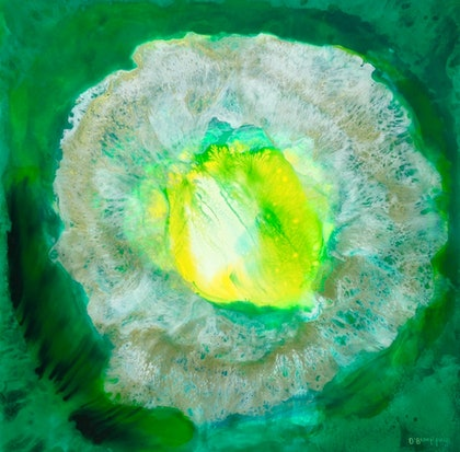 (CreativeWork) Edelweiss by Olena Bloomfield. mixed-media. Shop online at Bluethumb.