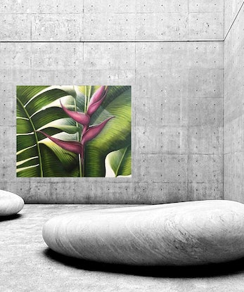 (CreativeWork) The Beauty Within  by Tracey Knowland. Acrylic Paint. Shop online at Bluethumb.