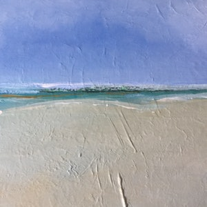 (CreativeWork) Coastal impression by Patricia Galloway. arcylic-painting. Shop online at Bluethumb.