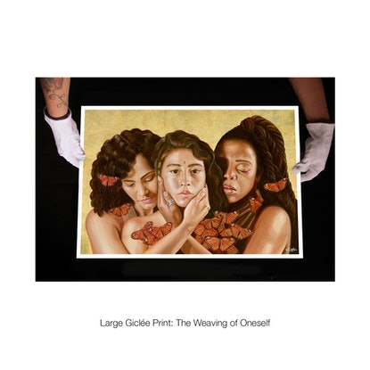 (CreativeWork) Three Races • Limited Edition Signed Print  Ed. 2 of 80 by Katherine Gailer. Print. Shop online at Bluethumb.