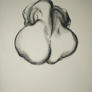 (CreativeWork) Seated Nude by Yehoshua Viles. drawing. Shop online at Bluethumb.