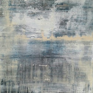 (CreativeWork) Transient Storm by Emily Lauro. arcylic-painting. Shop online at Bluethumb.
