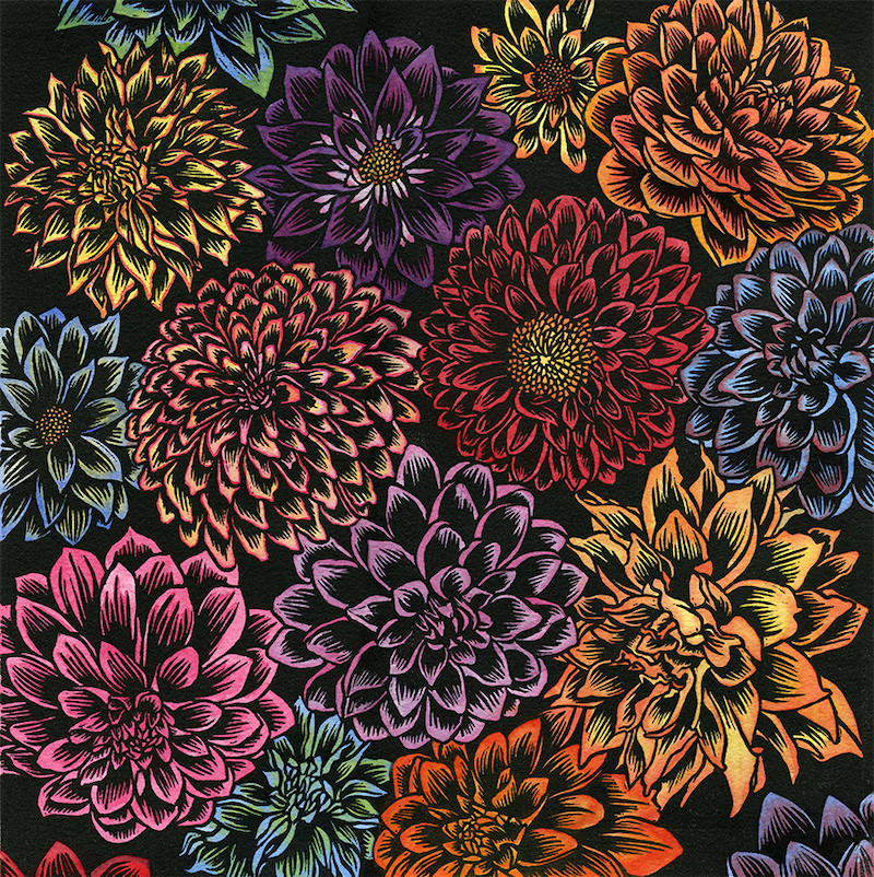 (CreativeWork) Floral Fiesta Ed. 1 of 1 by Katherine Appleby. #<Filter:0x000055c8773571a0>. Shop online at Bluethumb.
