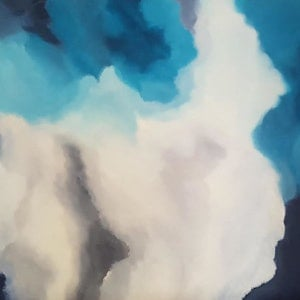 (CreativeWork) CLOUD by monnica marwick. arcylic-painting. Shop online at Bluethumb.