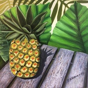 (CreativeWork) Sun Ripened by Tracey Knowland. oil-painting. Shop online at Bluethumb.
