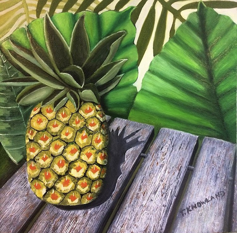 (CreativeWork) Sun Ripened by Tracey Knowland. Oil Paint. Shop online at Bluethumb.