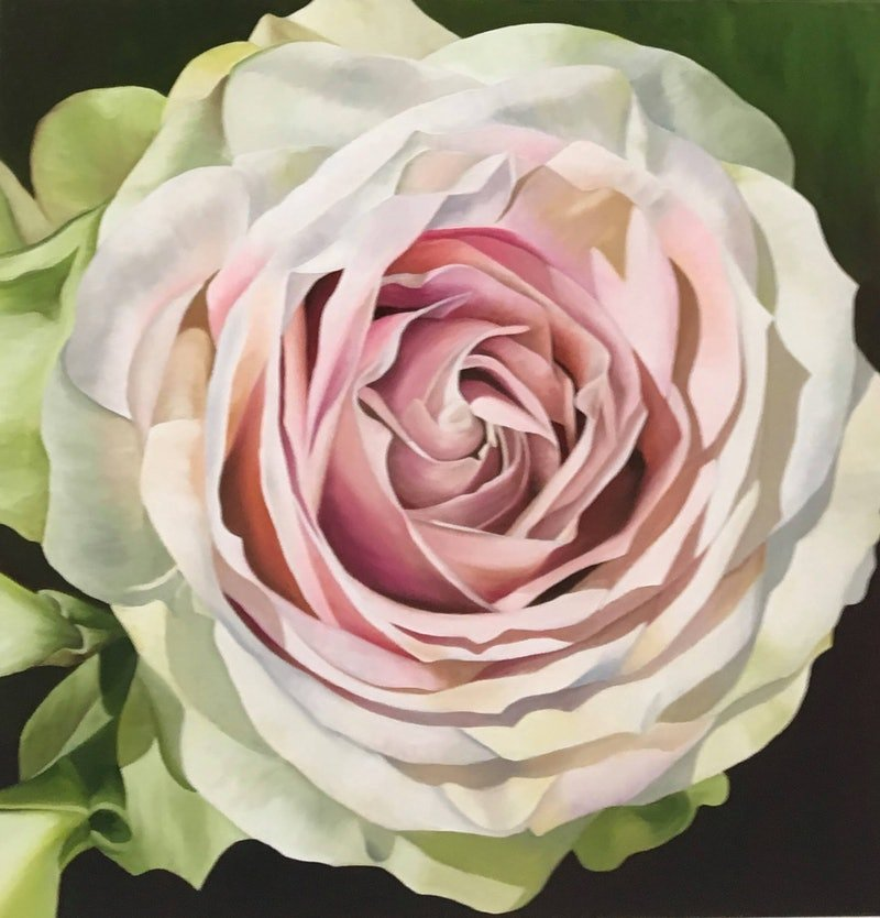 wedding rose by linda mcgowan paintings for sale bluethumb