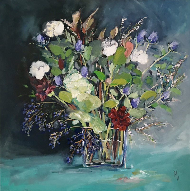 (CreativeWork) The Darling Buds of May by Meredith Howse. oil-painting. Shop online at Bluethumb.